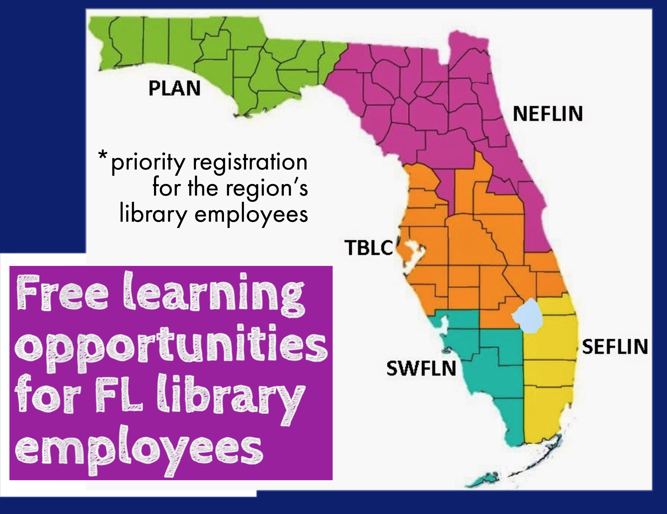 FL Library Consortia Map